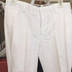 Pants cuffed bottom